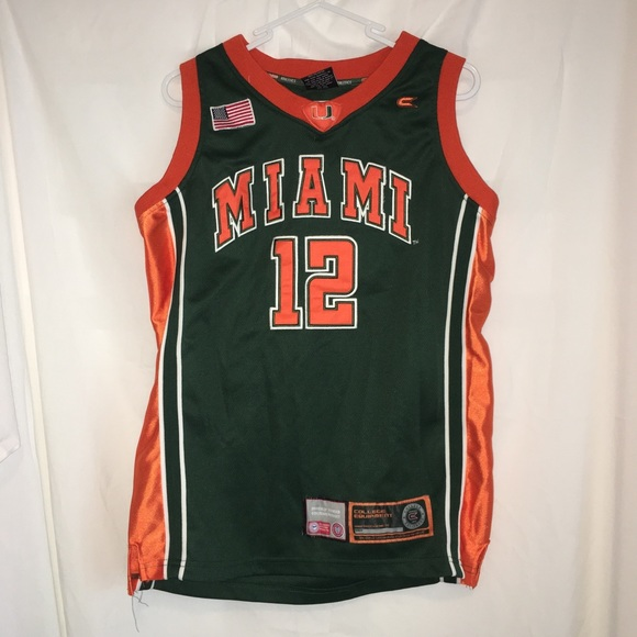 7d95d3d6351 Colosseum Other - University of Miami Basketball Jersey